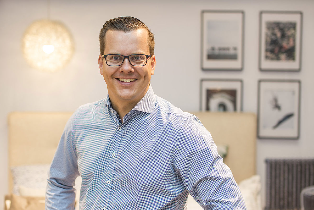Fachhändler Simon Terhardt