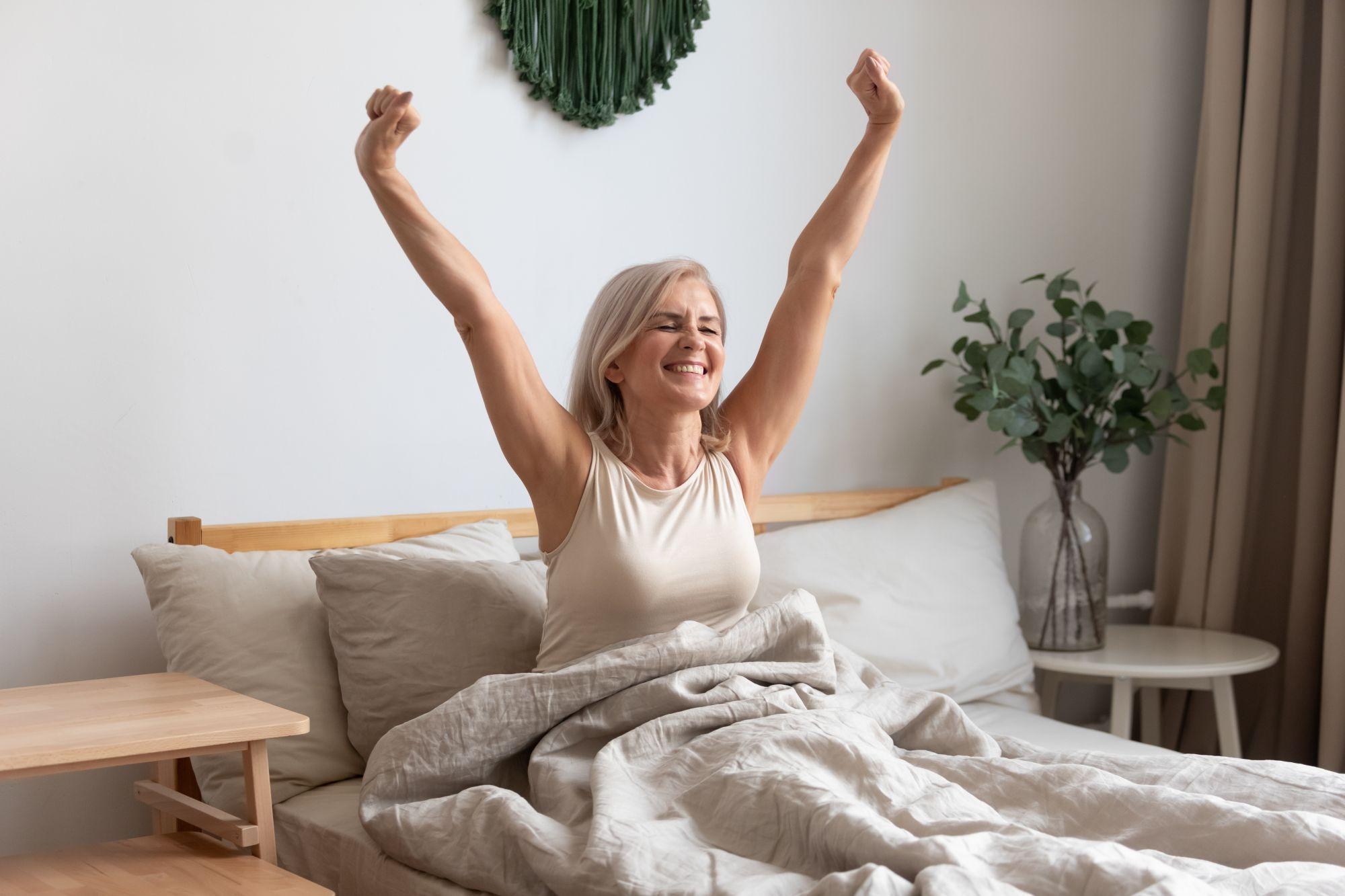 Erholsam schlafen im Bett, Komfortbett, auf der richtigen Matratze mit passendem Lattenrost